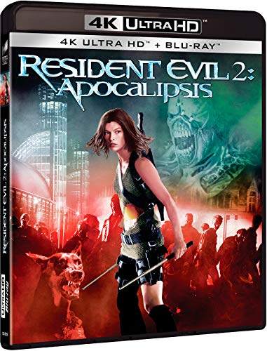 RESIDENT EVIL 2: APOCALIPSIS (4K UHD + BD) [Blu-ray]