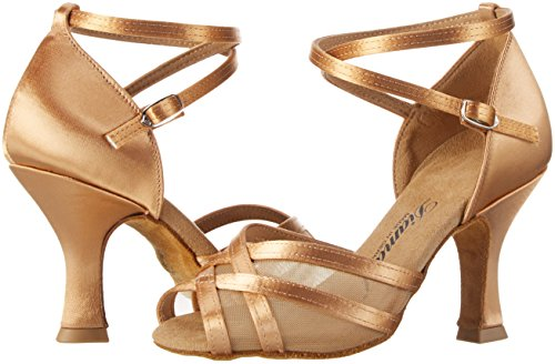 Diamant Damen Tanzschuhe 035-108-087 Standard & Latein, Beige (Bronze), 38 2/3 EU (5.5 UK) - 5