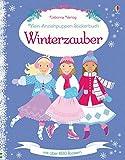 Mein Anziehpuppen-Stickerbuch: Winterzauber - Leonie Pratt