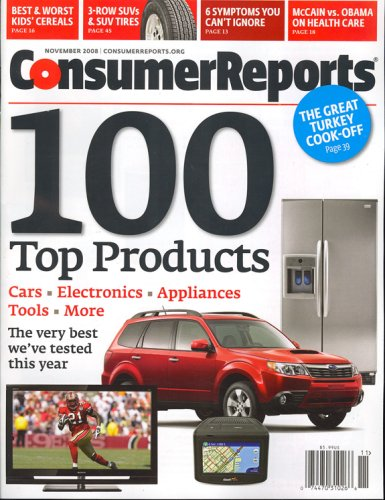 Consumer Reports, November 2008 Issue