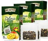 BIG-ACTIVE Té verde en bolsitas de té con frutas de frambuesa, membrillo, opuntia tuna HERBAPOL, 3 x 20 sobres x 1,5 g, refresca la mente, favorece la digestión, favorece la pérdida de peso