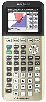 Texas Instruments TI-84 Plus CE Color Graphing Calculator Golden Ratio  Metallic