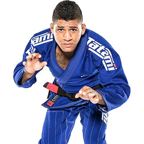 Tatami Fightwear - Estilo 6.0 BJJ - Kimono para Hombre, Hombre, BJJ Kimono, estilo6-b&white-A3L, Azul y Blanco, A3L