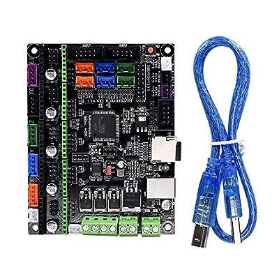 KINGPRINT NEW Smoothieware Controller Board SKR V1.1 32bit Controller Panel Board for 3D Printer