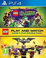 Contains LEGO Batman the movie on Blu-ray and LEGO DC Super-Villains on PlayStation 4