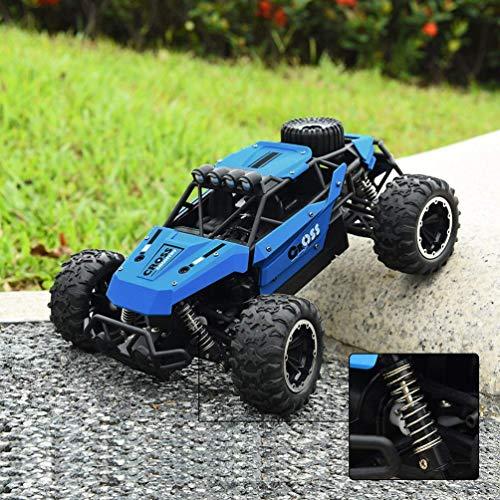 RC Auto kaufen Buggy Bild 4: allcaca Buggy RCAuto Offroad 4WD Ferngesteuertes Auto 1/16 Maßstab 2.4GHz Funkfernsteuerung 25KM/h RC Geländewagen Auto Spielzeug für Erwachsene und Kinder, Blau*