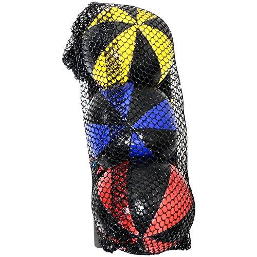 Eureka-Acrobat 52475061 - Jonglierbälle, Outdoor Spielgerät, 120 g, 3 Stück