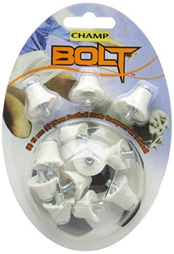 Champ Bolt - noppen voor voetbalschoenen 12 stuks - wit 405225