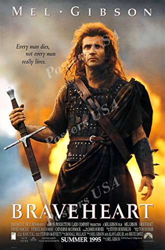 Posters USA - Braveheart Movie Poster GLOSSY FINISH) - MOV048 (24' x 36' (61cm x 91.5cm))