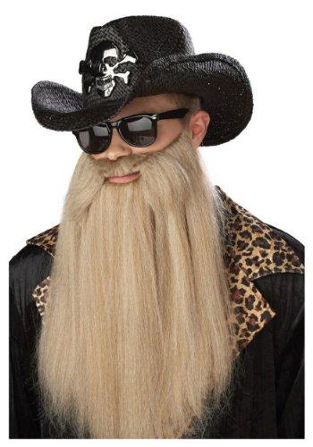 ZZ Top Sharp Dressed Man Beard, Blonde