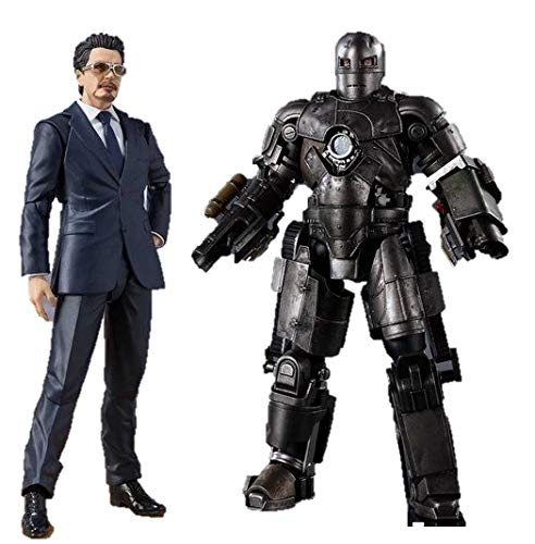 Bandai Spirits S.H.Figuarts Iron Man Mark 1 Mk-1 & Tony...