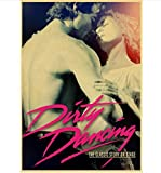 JIUJIUJIU Plakate und Drucke Film Dirty Dancing Retro-Stil