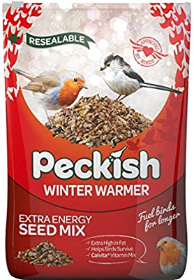 Peckish Winter Warmer Wild Bird Seed Mix. from Peckish