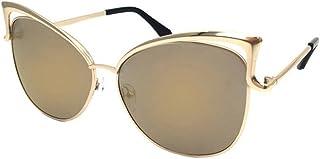 Paquete ZODOF - ZODOF Gafas de Sol Lentes Transparentes Gafas Metal Espectáculo Marco Miopía Gafas Gafas de Sol para Mujer y Hombre Unisex