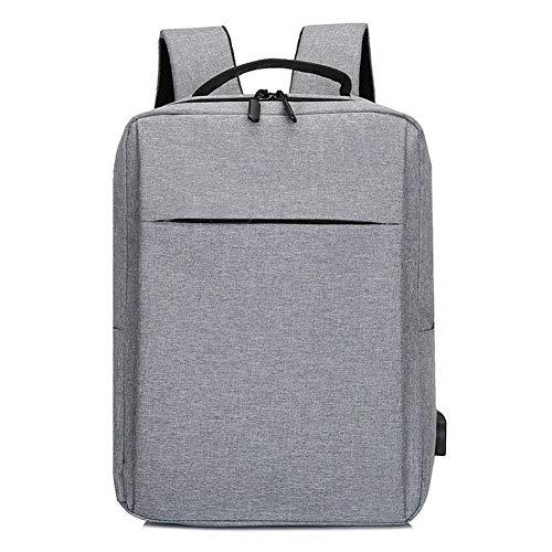 Chutoral Business-laptop-rugzak, schoolrugzak, reisdagrugzak, laptoptas, laptoptas, college-rugzak voor reizen, business, college, vrouwen/mannen lichtgrijs