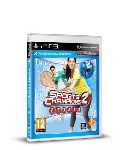 NEW & SEALED! Sports Champions 2 Sony Playstation 3 Move PS3 Game UK