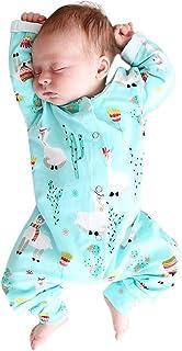 Hirolan Overall Unisex Strampler Kleinkind Niedlich Bequem Baby Mädchen Jungs Langarm Alpaka Drucken Spielanzug Baumwolle Romper Jumpsuit Kleidung Outfits6-24 Monat