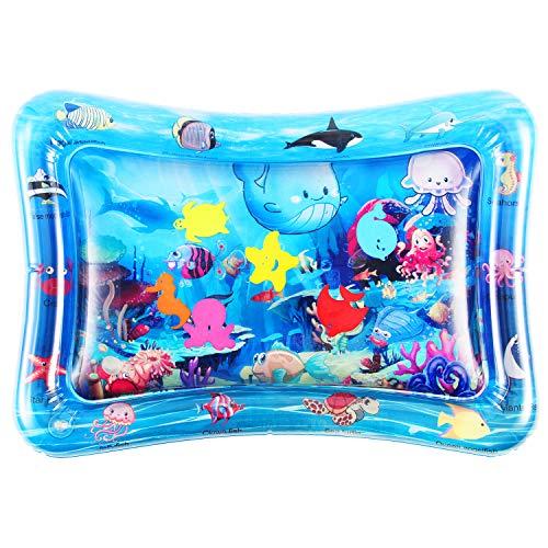 Tummy Time Baby Water Play Mat Giocattoli per 3 6 9 Mesi, Il Giocattolo Divertimento Perfetto per Neonati Centri Attività Sviluppo Precoce