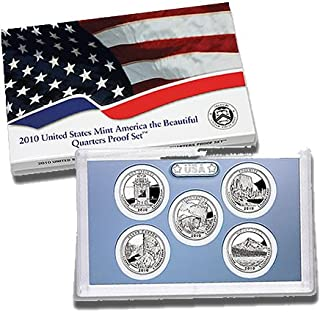 2010 S US Quarter Proof set Cameo Proof