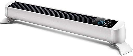 XN Zócalo Calentador 2KW, Calentador Convector con Termostato Y Temporizador, 3 Configuraciones De Calor Ajustables (1000W, 2000W) con Control Remoto