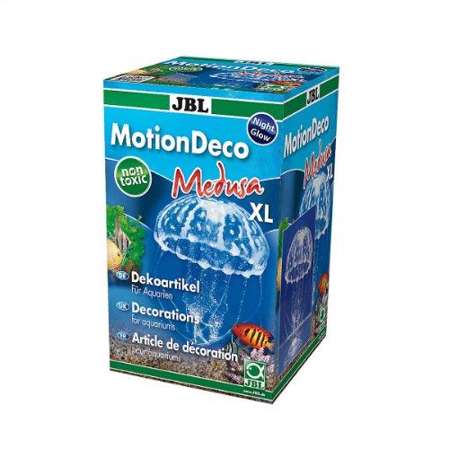 JBL Motion Deco Medusa XL White 60450 Dekorfigur Qualle, beweglich für Aquarien XL Weiß