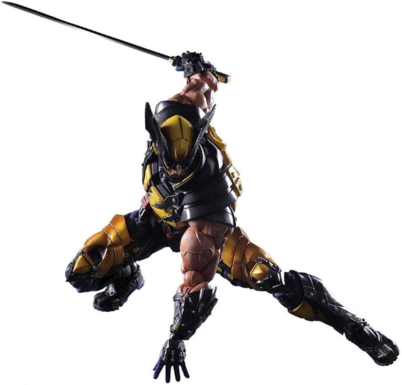 GABENG Anime Character Souvenir Crafts Ornament Toy Figurine Model Statue Nendgoldid Action Figure XMen Wolverine Rogan Howlet