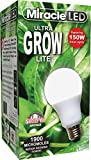 Miracle LED Commercial Hydroponic Ultra Grow Lite - Replaces up to 150W - Daylight White Full Spectrum LED Indoor Plant Growing Light Bulb For DIY Horticulture & Indoor Gardening (605188)