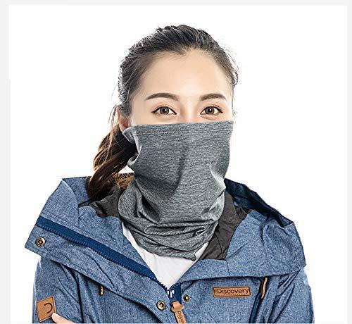 Riding Hoofddoek/Neck Brace/Gezichtsmasker Geborsteld En Comfortabel Melk Zijde Gezicht Sjaal Multifunctionele Bib Cover Geschikt Voor Outdoor Sport,1