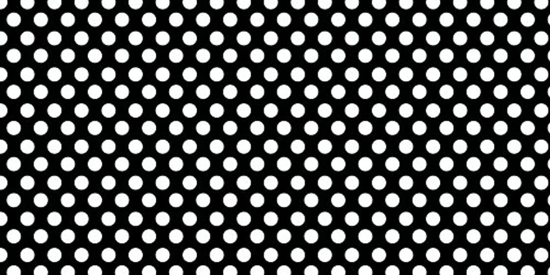 American Crafts 12 x 24 Inch Black and White Dots Specialty Paper by Die Cuts with a View