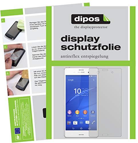 dipos I 6X Schutzfolie matt kompatibel mit Sony Xperia Z3 Folie Bildschirmschutzfolie