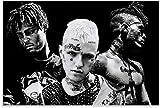 Poster, Motiv: Rapper Juice WRLD XXXTENTACION Lill Peep