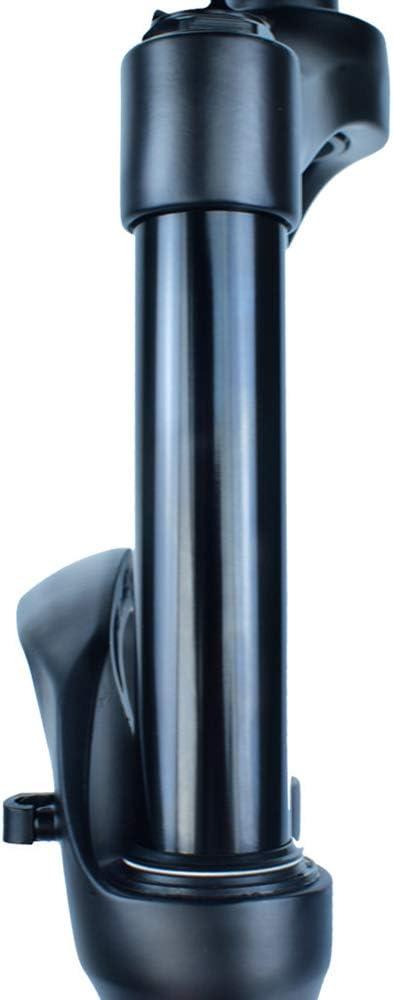 BESTSL Fourche /à Suspension Pneumatique VTT 26 27.5 29 Pouces Fourche Avant VTT en Alliage daluminium Ultral/éger Fourche Avant VTT Voyage 120mm 9mmQR,Straight Hand,26