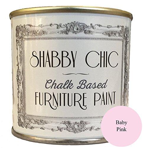 Bébé rose Craie Base Meubles Peinture Idéal pour créer un style shabby chic. 125ml