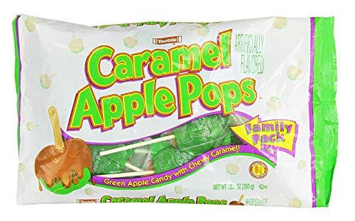 Tootsie Caramel Apple Pops Family Pack 127 Oz