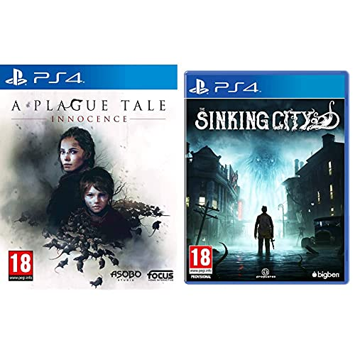 A Plague Tale Innocence - PlayStation 4 & The Sinking City - Day One Special Edition - PlayStation 4