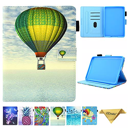 Folio Case for Kindle Paperwhite 2018, JZCreater PU Leather Smart Case Cover with Auto Wake/Sleep for New Amazon Kindle Paperwhite 10th Generation E-Reader 2018, Fire Balloon