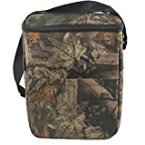 HMQINYI Insulated Lunch Box for Men Camo Lunch Bag for Boys Picnic Food Storage Box Cooler Bag (9L Leaf Camouflage)