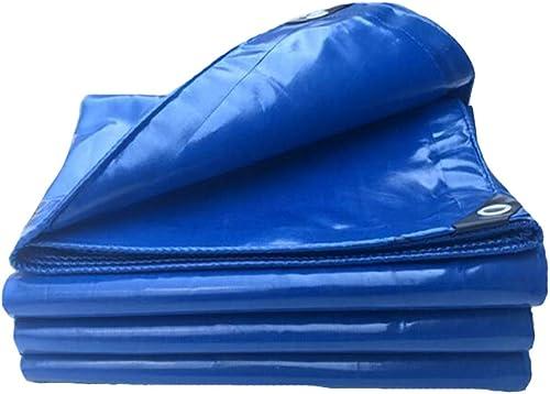 Dall bache Bache Imperméable à Toute épreuve De Plein Air Camping UV Prougeégé 450g   M2 (Couleur   Bleu, Taille   4×5m)