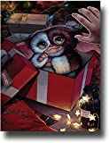 SSKJTC Gremlins Classic Movie Art Christmas Elf in a Gift Box Modern Home Decor Canvas Wall Art Abstract Contemporary 30,5 x 45,7 cm