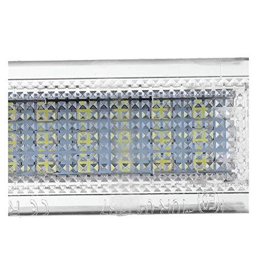 RJJ Wyfan Coche LED Luz de Equipaje Lámpara de Tronco Lámparas Ajuste para VW Ajuste para Apto para Golf para Jetta Fit for Pas/Sat Polo Touran Caddy Campmob EOS Touareg Transporter T5
