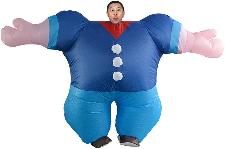 QSEFT Costume Gonfiabile Hercules Per Donne Uomini Sailor Weight Lifting Mr Fitness Adulto Blow Up Suit Festa Di autonevale Cosplay Fancy Dress