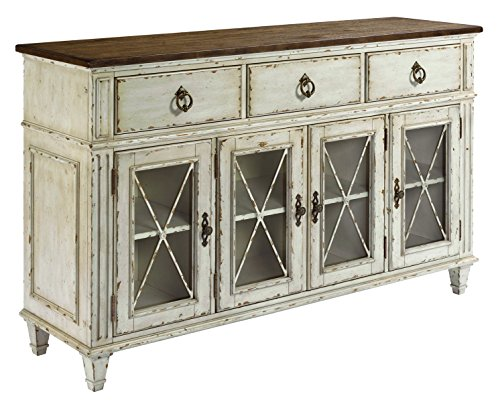 Southbury Sideboard in Distressed White Finish by American Drew