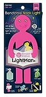 (まとめ買い) レイメイ藤井 LED ブックライト ライトマン ピンク LTM160P 【×3】