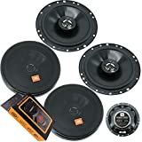 2 Pairs of JBL Stage 602H 6-1/2 Inches 260 Watts Peak Power Coaxial Car Audio Loudspeaker with Frequency Response: 55Hz – 20000Hz + Gravity Magnet Phone Holder Bundle