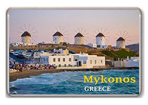 Mykonos? Greece fridge magnet.!!!