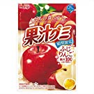 明治 果汁グミふじりんご 47g ×10袋