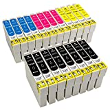 ESMOnline 20 komp. Druckerpatronen für Epson Stylus SX445W SX440W SX435W