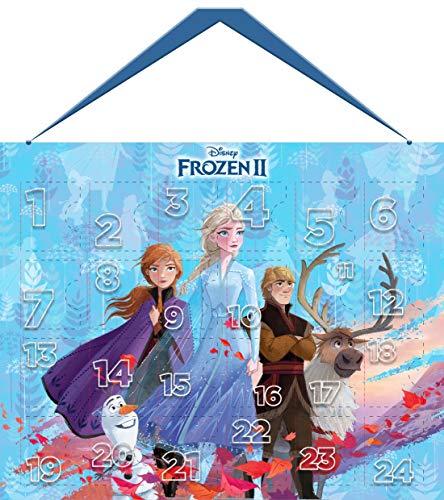 Disney Frozen II Beauty Adventskalender 2019 mit 24 hochwertigen Accessoires- und Kinderkosmetik- Überraschungen im süßen Eiskönigin-Design, für Haare, Nägel, Augen & Lippen