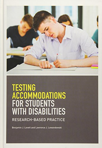 Download Testing Accomodations for Students With Disabilities: Research-Based Practice (School Psychology) 1433817977