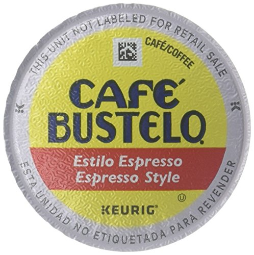 Cafe Bustelo K-Cups - Espresso Style - 72 ct